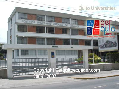 quito ecuador colleges and universities